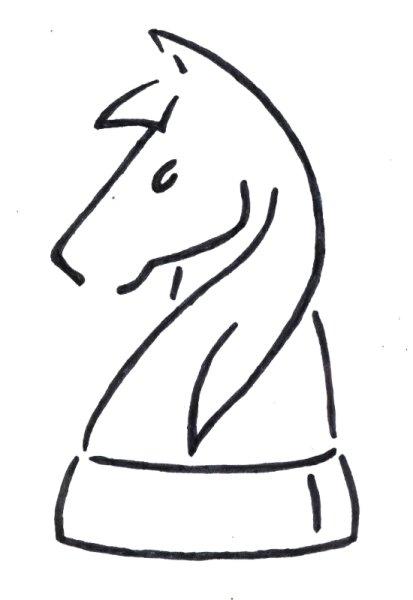 Caballo - Dibujo de Roberto Pérez-Franco